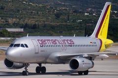 Aerobus A319-132 Zdjęcie Stock