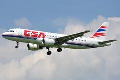 Aerobus A320-214 Zdjęcie Stock