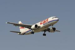 Aerobus A320-214 Obrazy Royalty Free