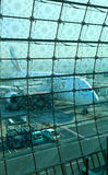 Aerobus a380 Zdjęcia Royalty Free