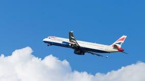 Aerobus A321-231 British Airways Fotografia Royalty Free