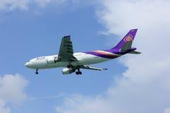 Aerobus a300 HS-TAZ thaiairway Obrazy Stock