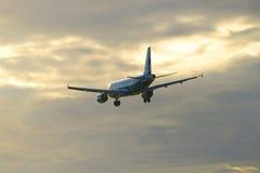 Aerobus A319-111 linia lotnicza Rosja w kolorze futbolu klub Zenit (VQ-BAS) Fotografia Royalty Free