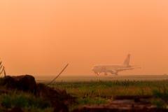 Aerobus A320 Ural Airlines Zdjęcie Royalty Free