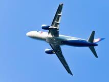 Aerobus A320-214 Ural Airlines Zdjęcia Royalty Free