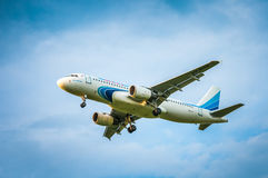 Aerobus A320-214 VP-BHXâ€' Yamal linie lotnicze Fotografia Stock