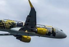 Aerobus 320 Vueling Zdjęcia Stock