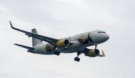 Aerobus 320 Vueling Zdjęcie Stock