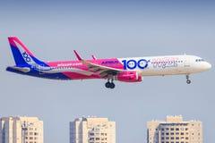 Aerobus A321 Wizzair zdjęcie royalty free