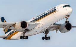 Aerobus A350-900 XWB Obraz Stock