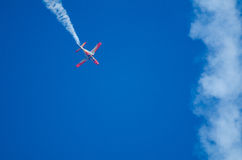 Aerodynamischer Stall an einer Flugschau Lizenzfreie Stockfotografie