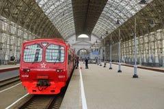 Aeroexpress pociąg Obraz Stock