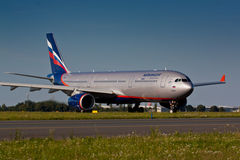 A330 Aeroflot Image stock