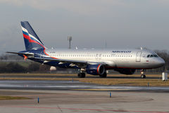 Aeroflot Royaltyfria Bilder