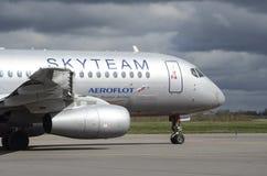 aeroflot Photo stock