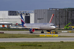 Aeroflot Aerobus A321 Zdjęcie Stock