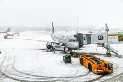 Aeroflot Airbus A320 Lizenzfreies Stockfoto