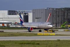 Aeroflot Airbus A321 fotografia stock