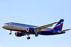 Aeroflot Airbus A320 Stockbild