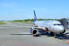 Aeroflot Airbus A319 Stockbilder