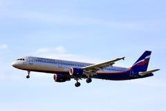 Aeroflot Airbus A321 Stockfotografie