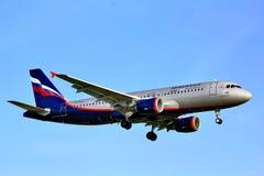 Aeroflot Airbus A320 Imagem de Stock