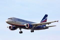 Aeroflot Airbus A319 Stockfoto