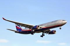 Aeroflot Airbus A330 Stockfoto