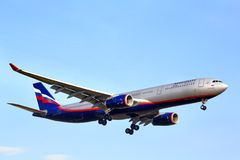 Aeroflot Airbus A330 Stockfotos