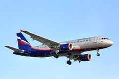 Aeroflot Airbus A320 Photo stock