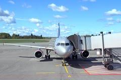 Aeroflot Airbus A319 Image libre de droits