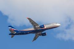 Aeroflot Airbus A320 Lizenzfreie Stockbilder