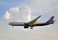 Aeroflot Airbus A330 Lizenzfreie Stockbilder
