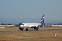 Aeroflot Airbus A320 Stockfotos