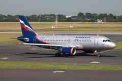 Aeroflot Airbus A319 Royalty Free Stock Image