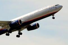 Aeroflot Airbus A330-343E - takeoff aircraft. Aeroflot Airbus A330-343E VQ-BMY I. Frank FRA 07-08-12 Stock Photo
