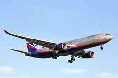 Aeroflot Airbus A330 Stock Photo