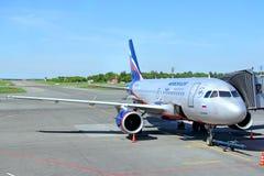 Aeroflot Airbus A319 Stock Images