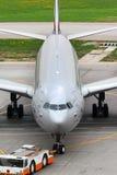 Aeroflot Airbus A330 VQ-BCU an internationalem Flughafen Sheremetyevo Lizenzfreie Stockfotografie