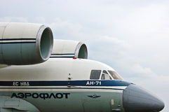 Aeroflot Antonov An 71 Stock Photos