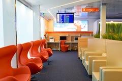 Aeroflot-Aufenthaltsrauminnenraum Lizenzfreies Stockbild