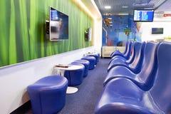 Aeroflot-Aufenthaltsrauminnenraum Stockbilder