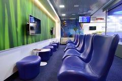 Aeroflot-Aufenthaltsrauminnenraum Lizenzfreie Stockfotografie