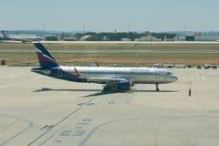 Aeroflot-Fluglinien Lizenzfreies Stockfoto