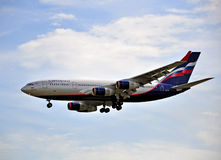 Aeroflot IL-96 Royalty Free Stock Images
