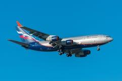 Aeroflot Ilyushin IL-96 Royaltyfri Fotografi