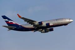 Aeroflot Ilyushin IL-96 Stockfotos