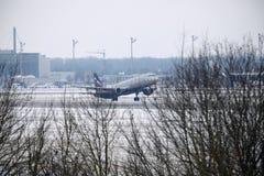 Aeroflot - líneas aéreas rusas Airbus A321-200 VQ-BHK Imagen de archivo libre de regalías