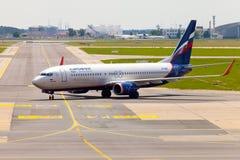 Aeroflot - lignes aériennes russes Boeing 737-8LJ Image libre de droits