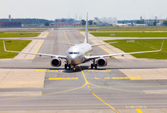 Aeroflot - lignes aériennes russes Boeing 737-8LJ Images stock